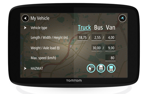 Meet the amazing TomTom Truck GPS