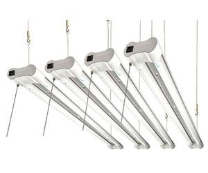 HyperSelect LED Shop Lights 4ft Garage Utility LED Light 3800 Lumens 4000K DLC 4.2 Review