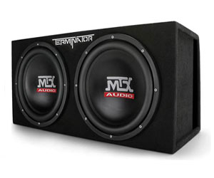 MTX Audio Terminator Series TNE212D 1200-Watt Dual 12-Inch Sub Enclosure Review