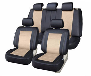 PIC AUTO Set Mesh and Leather Car Seat Cover Review