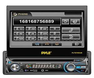 Pyle PLTS78DUB, Single DIN Head Unit Receiver Review