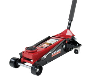 Blackhawk B6350 Black/Red Fast Lift Service Jack 3.5 Ton Capacity Review