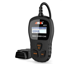 ANCEL AD210 OBD II Car Code Reader Automotive Vehicle OBD2 Scanner Diagnostic Scan Tool Review