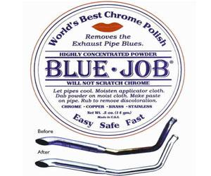 Blue Job Chrome Exhaust Polish Review