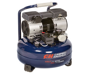 Campbell Hausfeld DC060500 Quiet Air Compressor Review