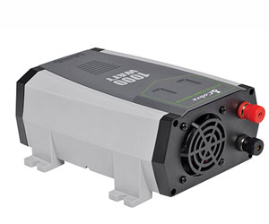 Cobra CPI1090 1000W Professional Power Inverter, 2.4 USB and 2 Grounded Outlets Review