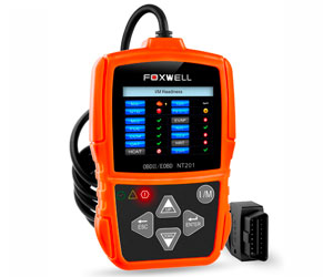 FOXWELL Orange NT201 Auto OBD2 Scanner Check Car Engine Light Fault Code Reader OBD II Diagnostic Scan Tool Review