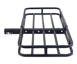 Goplus 500LBS Cargo Carrier Basket Hitch Mount Heavy Duty Steel for 2 Hitch Receiver Review