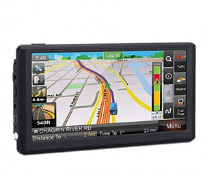JRCX Car GPS, 7 inch Portable 8GB Navigation System for Cars Review