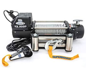 Superwinch 1595200 Tiger Shark 9.5, 12 VDC winch, 9,500 lb/4,309 kg capacity with roller fairlead Review