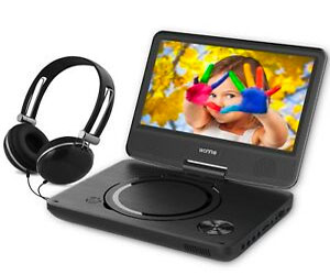WONNIE 9.5 Inch Portable DVD Player with 7.5 inch Swivel Screen Review