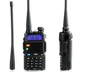 BTECH UV-5X3 5 Watt Tri-Band Radio VHF, 1.25M, UHF, Amateur (Ham) Review