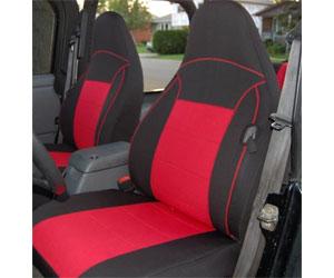GEARFLAG Jeep Wrangler TJ Neoprene Seat Cover Full Set Custom fit Review