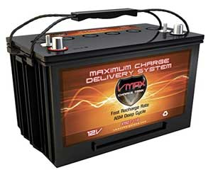 VMAXTANKS VMAX V35-857 12 Volt 35AH AGM Battery Marine Deep Cycle HI Performance Review